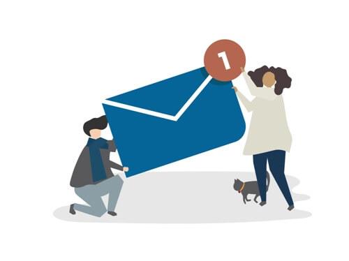 Configurarea aplicatiei de email