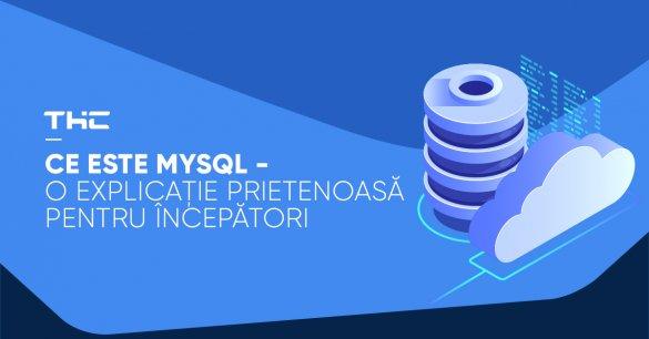 Ce este MySQL - O explicație prietenoasă pentru începători