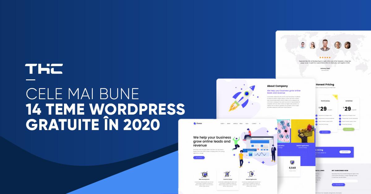 Cele mai bune 14 Teme WordPress Gratuite în 2020