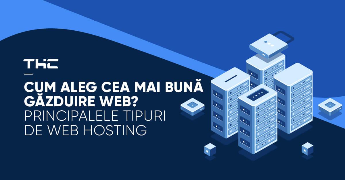 Cum aleg cea mai bună găzduire web? Principalele tipuri de web hosting