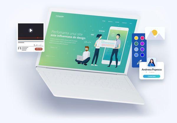 Web design De la pagini de prezentare pana la aplicatii web.